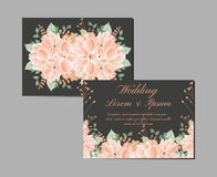 Greeting and invitation card suite. Vector Stock Images