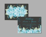 Greeting and invitation card suite. Vector Royalty Free Stock Images
