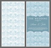 Greeting, invitation, wedding, card in the style of vintage, baroque, rococo, renaissance stock illustration