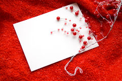 Greeting love card Stock Images