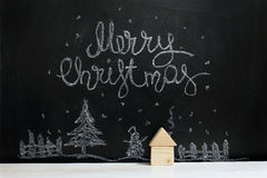 Greeting Merry Christmas Stock Images