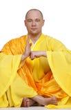 Greeting monk Royalty Free Stock Photos