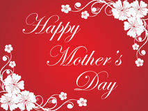 Greeting for mother day celebration Royalty Free Stock Images