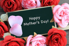 Greeting for mother's day Stock Image