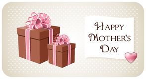 Greeting for mothers day Stock Photo