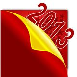 Greeting the new year 2013. Colorful greeting the new year 2013 as an illustration Vector Illustration