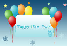 Greeting new year Royalty Free Stock Photos