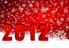 greeting nya år för kort Royaltyfri Bild
