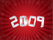 greeting nytt år för kort Arkivfoton