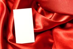 Greeting paper card with space for text royalty free stock photography