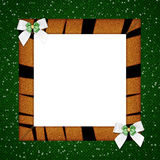 Greeting, picture frame Royalty Free Stock Photo