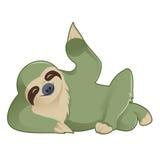 Greeting Sloth Stock Photo