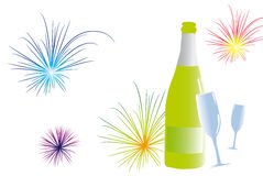 Greeting to a party. Royalty Free Stock Photography