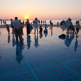 Greeting to the Sun, Zadar, Croatia Royalty Free Stock Photo