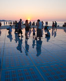 Greeting to the Sun, Zadar, Croatia Stock Photography