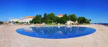 The Greeting to the Sun, Zadar Stock Photography