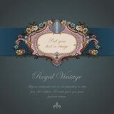 Greeting Vintage card. Royalty Free Stock Photography