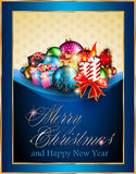 Greetings background for flyers or brochure Royalty Free Stock Images