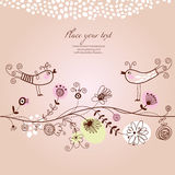 Greetings card Royalty Free Stock Photo
