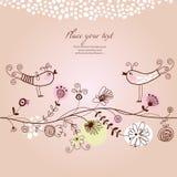 Greetings card Royalty Free Stock Photo