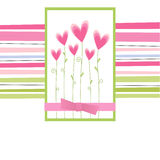 Greetings card Royalty Free Stock Photography