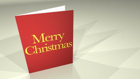 Greetings Card MerryXmas Stock Image