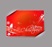 Greetings card for xmas Stock Photo