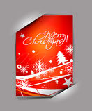 Greetings card for xmas Royalty Free Stock Photo