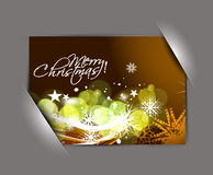 Greetings card for xmas Royalty Free Stock Images