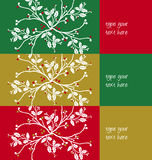 Greetings christmas pattern Royalty Free Stock Photos