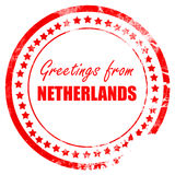 Greetings from netherlands Stock Photos