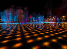 Greetings to the Sun, Zadar, Croatia. Long exposure on Zadar's newest landmark Royalty Free Stock Images
