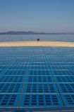 Greetings to the sun Zadar installation Royalty Free Stock Image