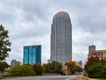 Greetings from Winston-Salem, North Carolina royalty free stock photo