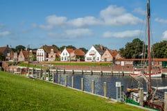 Greetsiel в Германии стоковое изображение rf