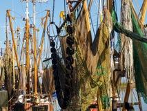 Greetsiel, рыбацкие лодки Стоковые Фотографии RF
