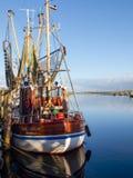 Greetsiel, рыбацкие лодки Стоковая Фотография