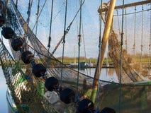 Greetsiel, рыбацкие лодки Стоковое Изображение
