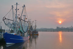 Greetsiel,East Frisia,North Sea,Germany Royalty Free Stock Photography