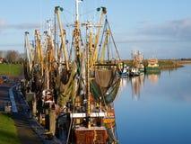 Greetsiel, fishing boats. Royalty Free Stock Photos