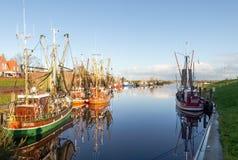 Greetsiel, fishing boats. Stock Image
