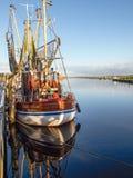 Greetsiel, fishing boats. Stock Photography