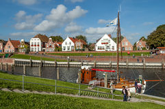 Greetsiel in Germany Royalty Free Stock Photos