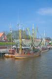 Greetsiel,North Sea,Germany Stock Photos