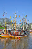 Greetsiel,Northern Germany,North Sea Stock Image