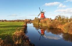 Greetsiel, traditional Windmill Royalty Free Stock Photos