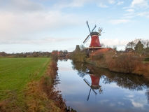 Greetsiel, traditional Windmill Royalty Free Stock Images
