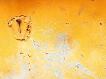 greey en naranja Foto de archivo libre de regalías