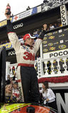 Greg Biffle in Victory Lane Royalty Free Stock Photo