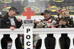 Greg Biffle wins Pennsylvania 500 Stock Photography